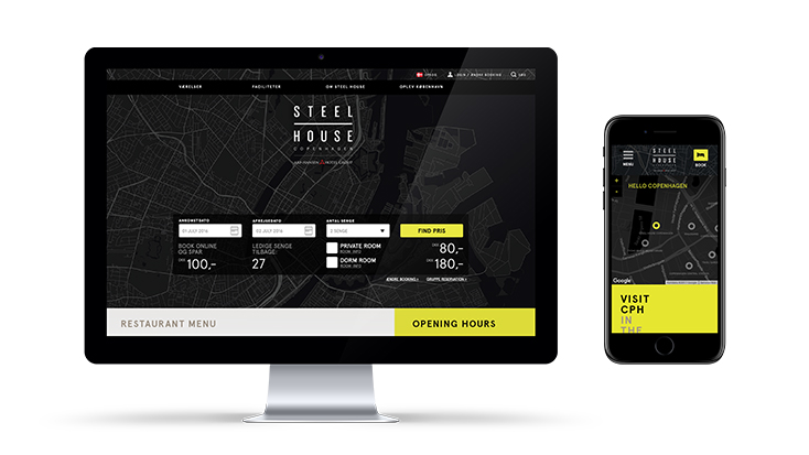 Steelhouse: Website and digital design