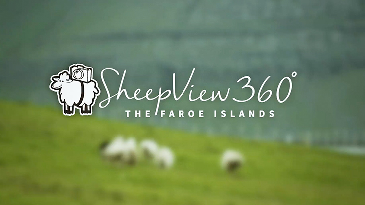 Visit Faroe Islands - Google Sheep View